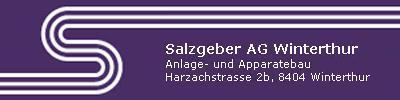 Logo von Salzgeber AG